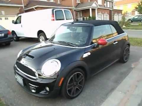2011 MINI Cooper S Convertible Startup Exhaust & In Depth Tour