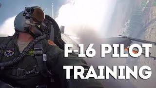 US Air Force Pilot Training - F-16 Fighter Pilot Training at Luke Air Force Base