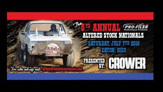 4x4 Altered Stock Nationals Truck Pull 2018 - Preble Co. OH