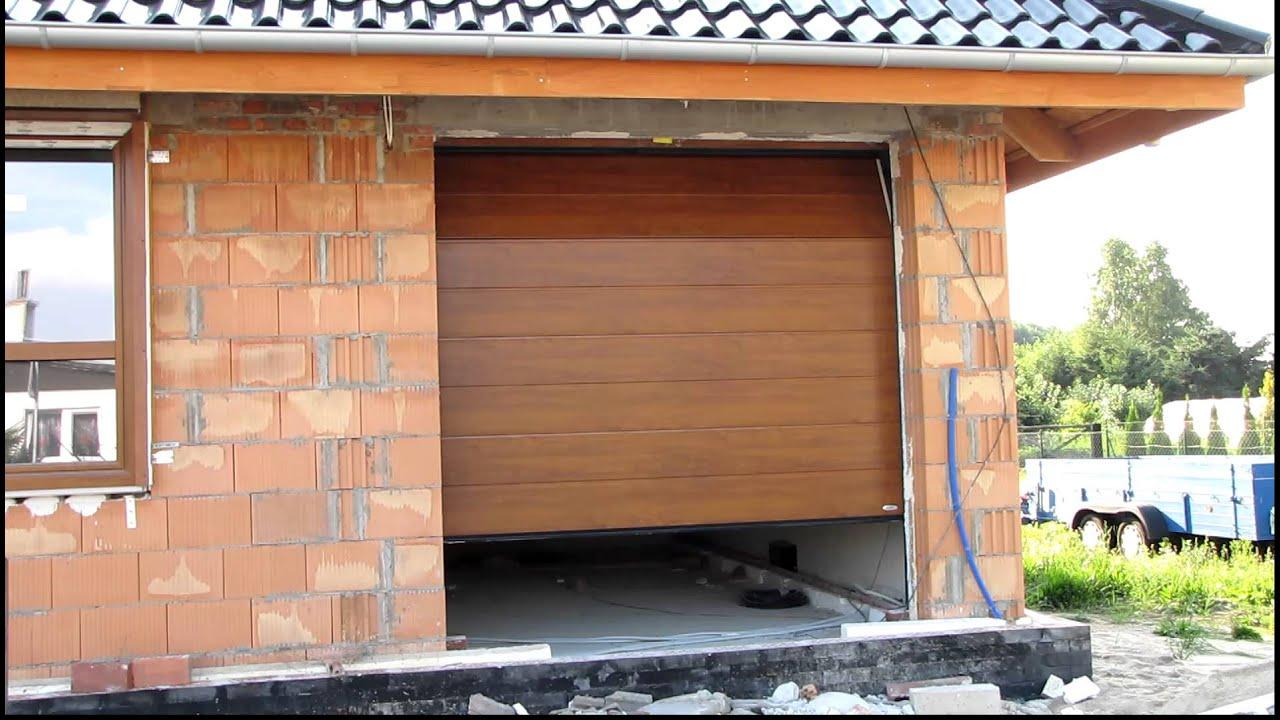Brama Novoferm Iso45 Zamontowana Przez Royal House Szczecin Youtube