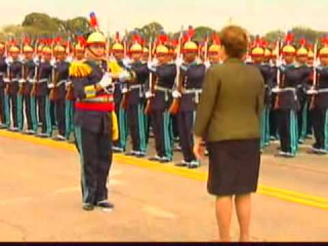 Dilma Roussef  na Academia Militar das Agulhas Negras
