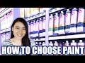 Student Grade vs Artist Grade Paint - How to choose your acrylic paint | LittleArtTalks