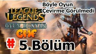 League Of Legends : 5. Bölüm [ Illaoi ] Böyle Oyun