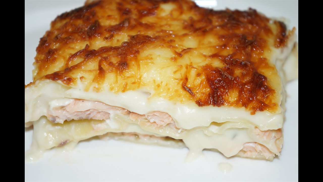 Lasagne Au Saumon Facile Cuisinerapide Youtube