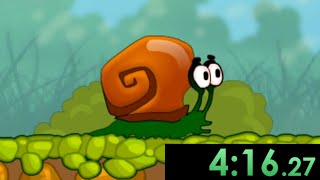 So I tried speedrunning Snail Bob and used creative strategies to win as fast as possible