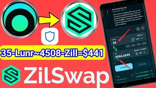 LunarCrush (Lunr) $441 Profit Airdrop Instant Payment Zilliqa Blockchain    Step By Step Guide Hindi