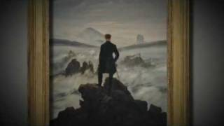 Caspar David Friedrich | räumliches Eintauchen in 2 Bilder