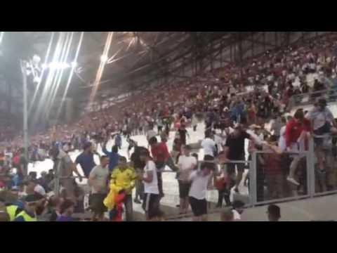 Marseille England v Russia