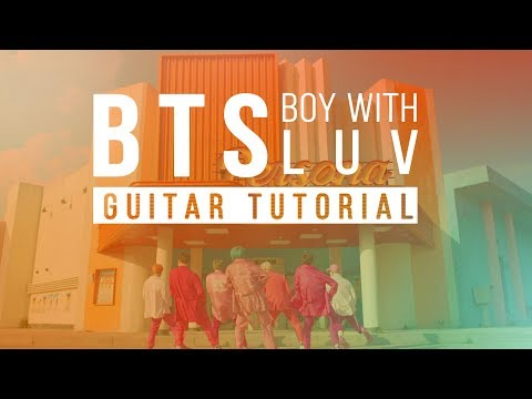 How to play Boy With Luv - BTS | Guitar Lesson | Melody Tab Chords
