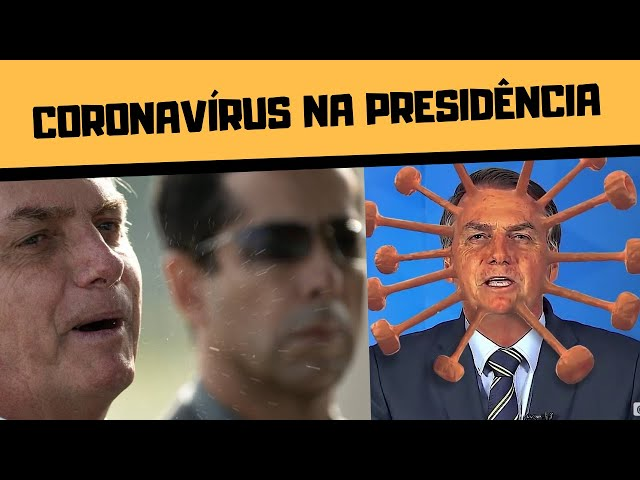 BOLSONARO CONTAMINADO COM CORONAVÍRUS: É MENTIRA?!!!