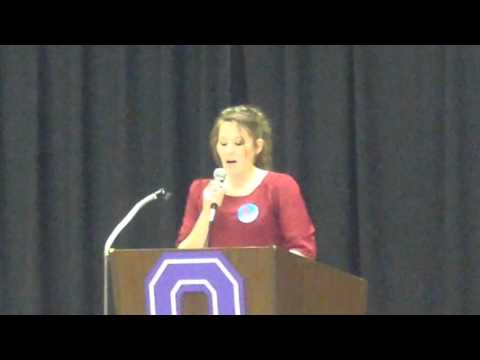 Republican Party caucus at Oelwein Middle School