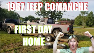 1987 JEEP COMANCHE 2WD 5 SPD - FIRST DAY HOME