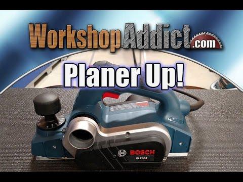 "Bosch PL2632K 3-1/4"" Planer Review"