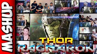 THOR: Ragnarok Teaser Trailer 1 Reactions Mashup