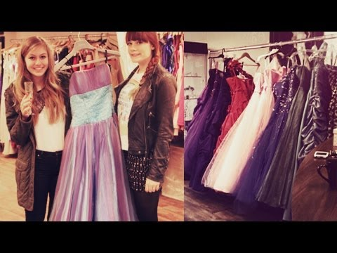 Prom Dresses Shopping