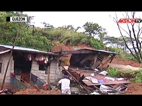4-Katao, patay sa landslide sa Real, Quezon