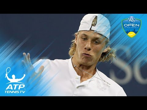 Denis Shapovalov jaw-dropping shots vs Edmund | Cincinnati 2018