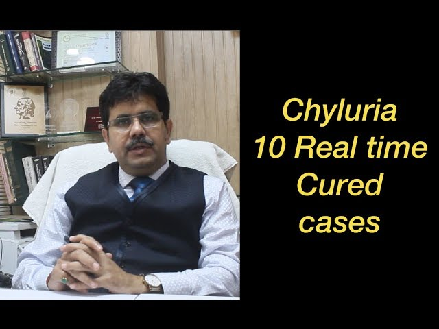 Chyluria Milky Urine Disease 10 Real Time Cured Cases