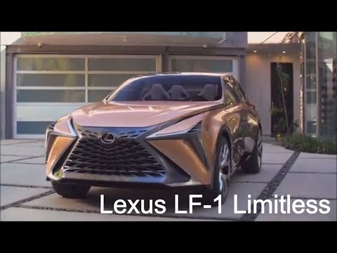 2020 Lexus LF1 Limitless  the future is new!