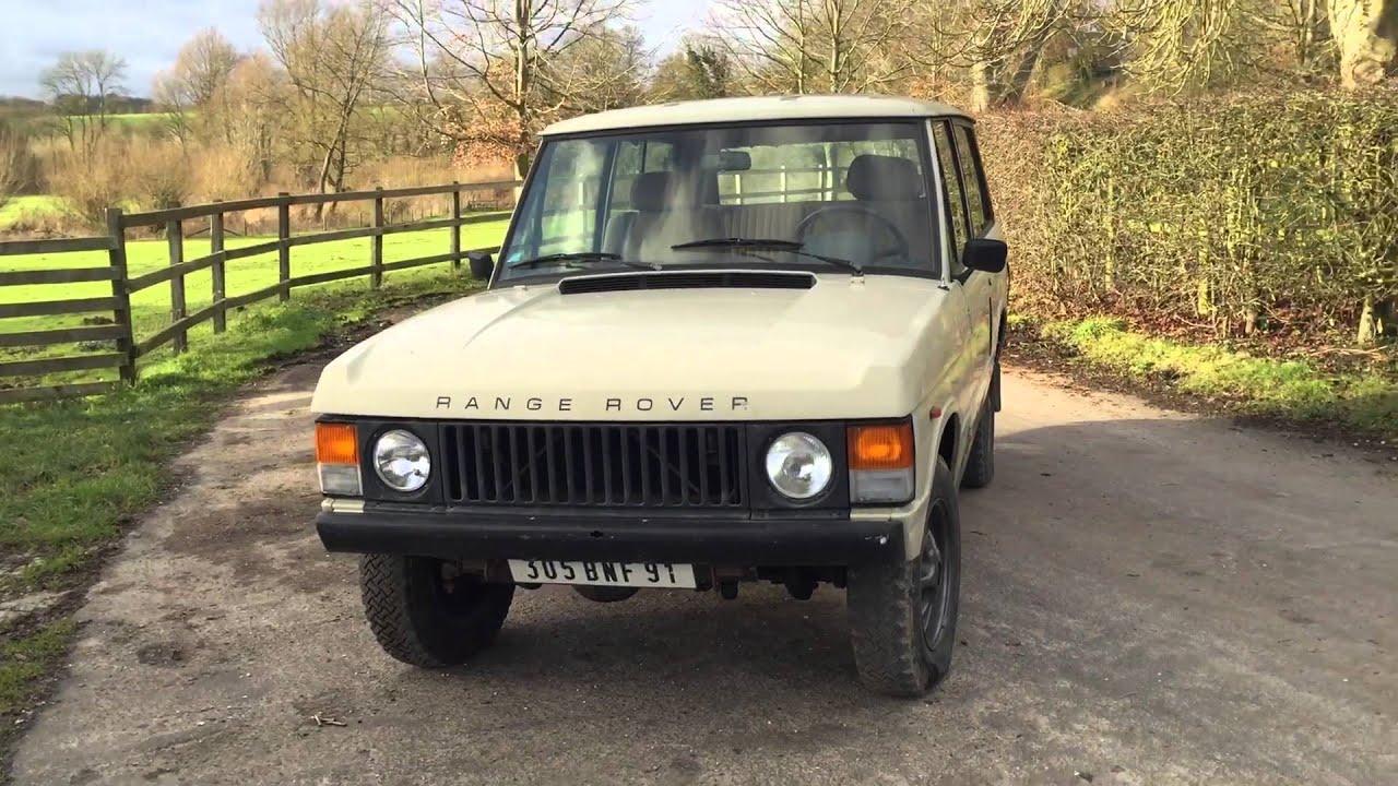 Range Rover Classic 2 Door Walk Around Bradley James Classics