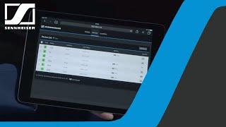 Control Cockpit Software – SpeechLine Digital Wireless Pt.4 | Sennheiser