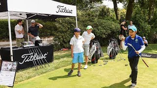 CFJ 2019 : un stand Titleist sur le putting green