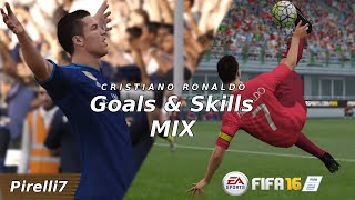 Fifa 16 mix: cristiano ronaldo  terrific goals & skills - by pirelli7