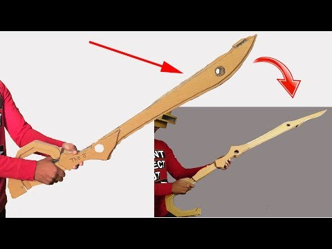 How To Make Extended Sword In a Full Size