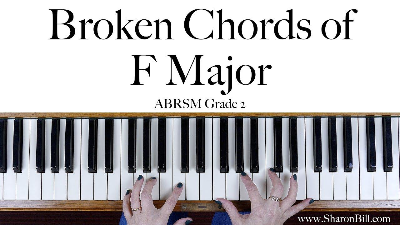 Abrsm grade 2 broken chords in f major right hand and left hand abrsm grade 2 broken chords in f major right hand and left hand hexwebz Images