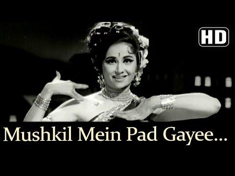 Mushkil Mein Pad Gayee Jaan HD  Devar   Madhumati Lata Mangeshkar  Usha Mangeshkar Dance