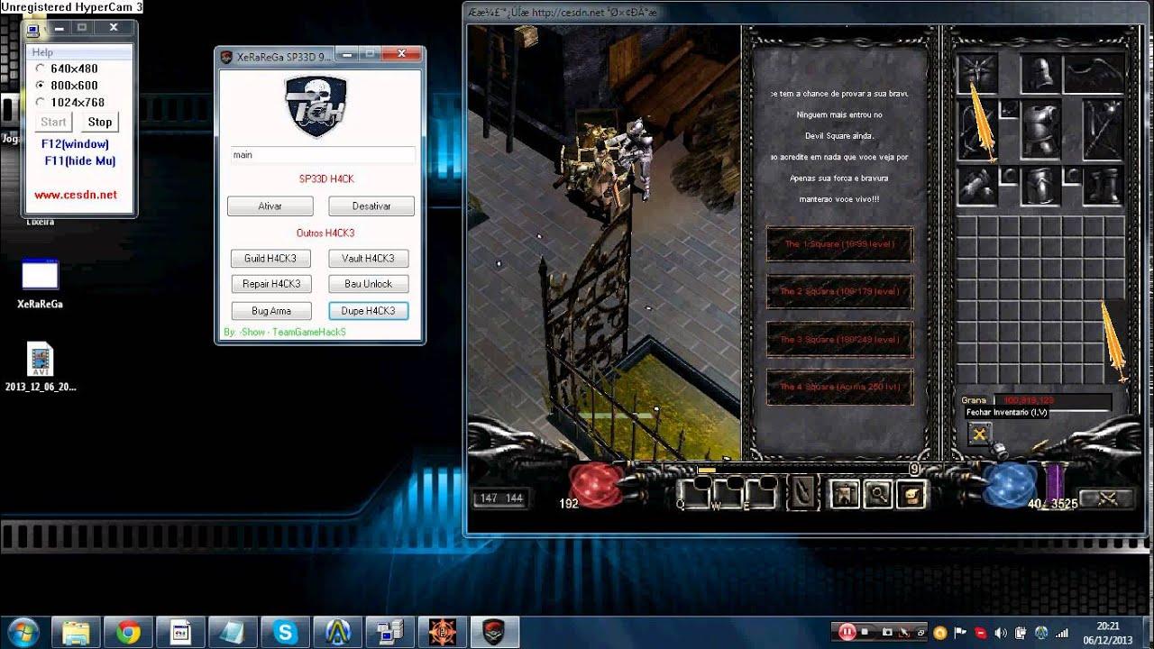 Hack for mu online 97d servers