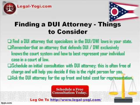 Columbus DUI / DWI Lawyer - Free Legal Help And Service In OH