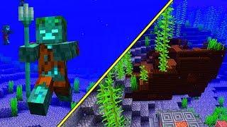 Schiffswracks & neue Mobs! - Minecraft Update 1.13 - 18w11a