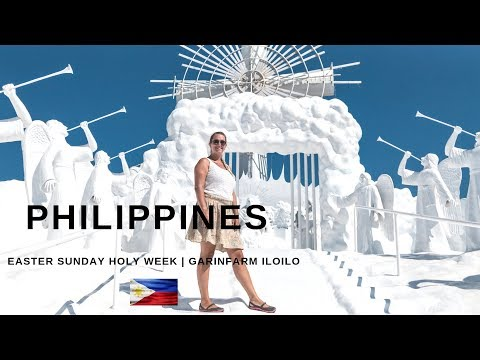 PHILIPPINES - Foreigners Experience Easter Sunday & Holy Week, Garin Farm Iloilo