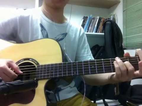 連詩雅Shiga - 說一句 Once Said acoustic guitar fingerstyle cover
