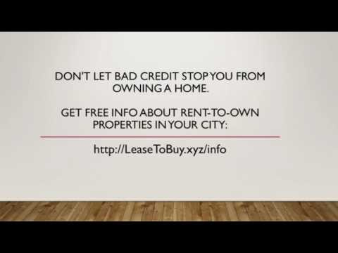 Rent To Own Homes In Alaska - Lease Option Homes