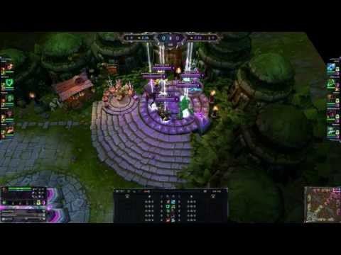 League Of Legends - Zac - Troll invade ended successfully