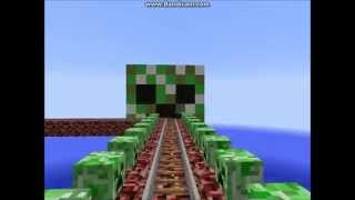 Coolest Minecraft Rollercoaster: Pacific Coaster (HD)