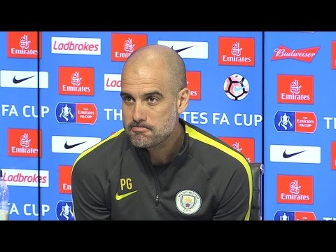 Pep Guardiola Full Pre-Match Press Conference - Middlesbrough v Manchester City - FA Cup