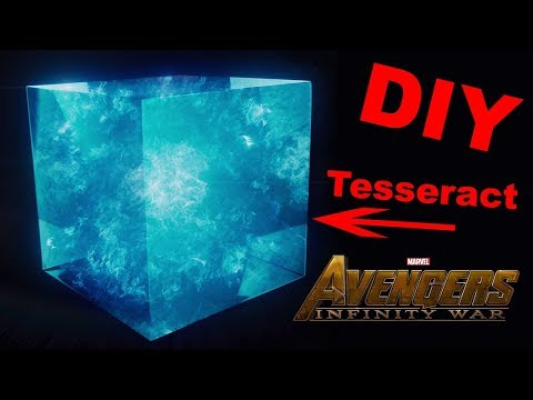 How To Make A Tesseract - DIY Infinity Stones - Space Stone