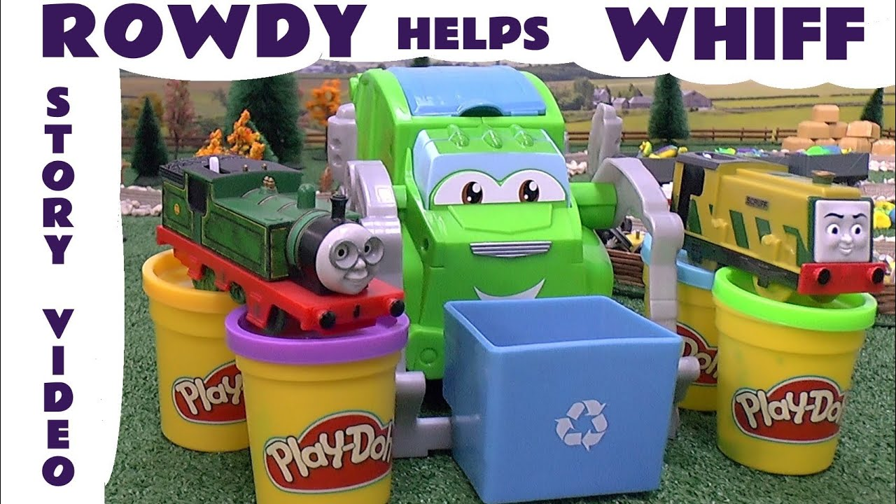 Play Doh Toy Kids Story Play Doh Thomas The Train Garbage