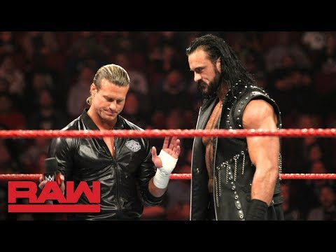 Dolph Ziggler interrupts Drew McIntyre Appreciation Night: Raw, Dec. 3, 2018