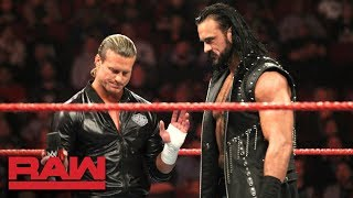 Dolph Ziggler interrupts Drew McIntyre Appreciation Night: Raw, Dec. 3, 2018