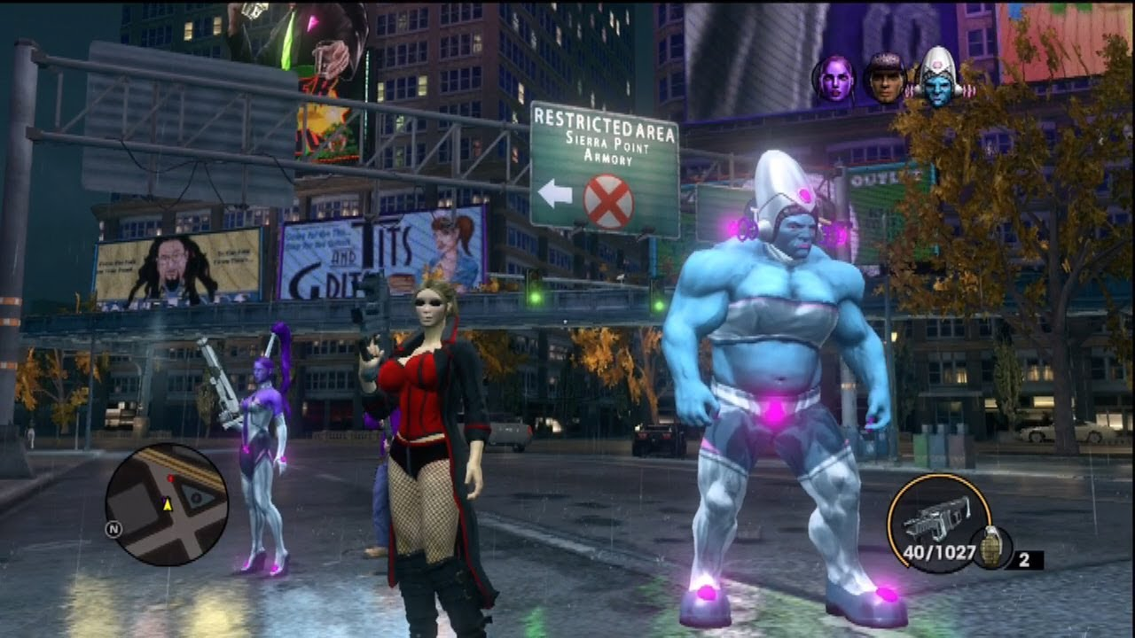 Saints Row IV GLITCHES - HOW TO EXPLORE ZINYAKS SHIP ON