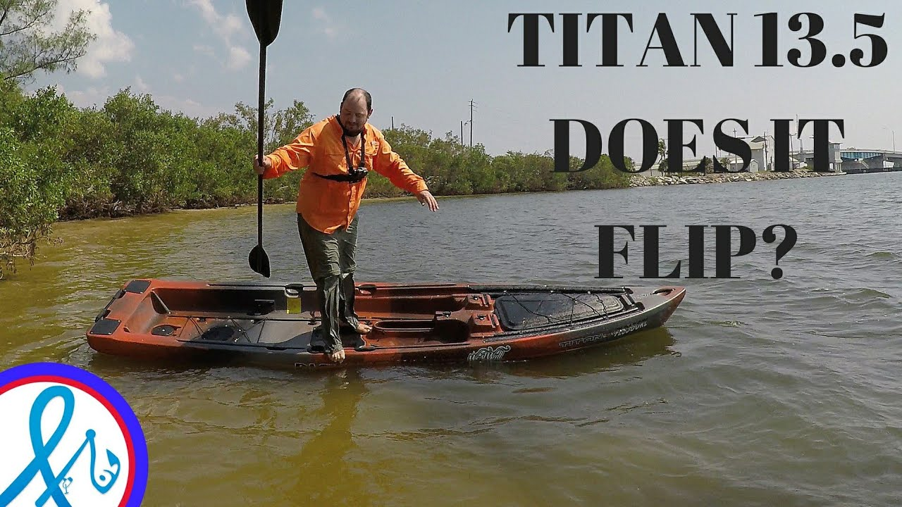 Native Watercraft Titan 13 5 Propel Kayak CRAZY Stability Test Does It FLIP?