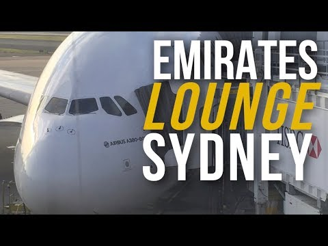 Emirates Airline Lounge Tour: Sydney, Australia