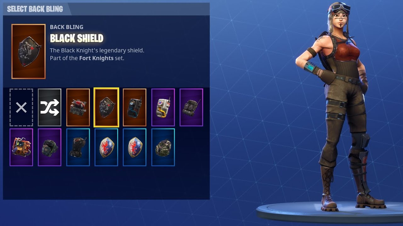 Fortnite legendary acc *black night renegade raider*best ...