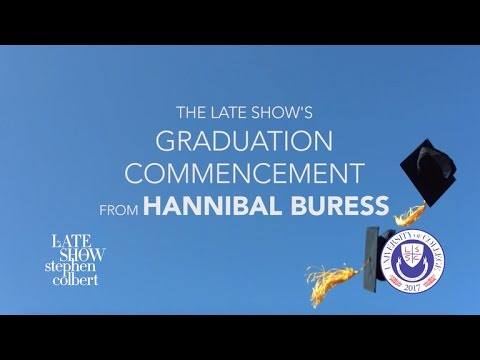 Thumbnail: Dr. Hannibal Buress Delivers 2017 Commencement Address