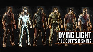 Dying Light - ALL OUTFITS with LEGEND SKINS Showcase (Including Secrets & DLCs)