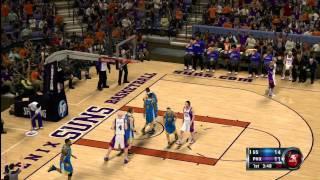 NBA 2K12 Warriors @ Suns Part 2